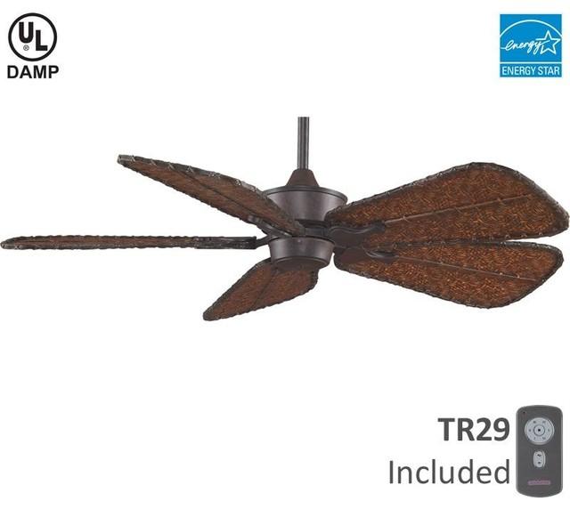 Ceiling Fan Tropical Blades: Rust Fan Motor Without Blades