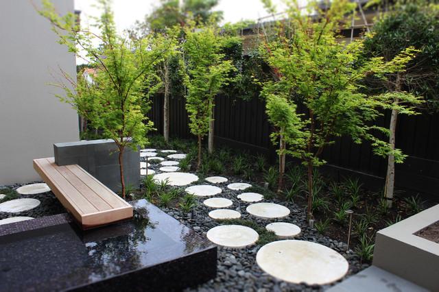 Burgess street contemporary melbourne by c o s design - Pinterest jardin deco ...