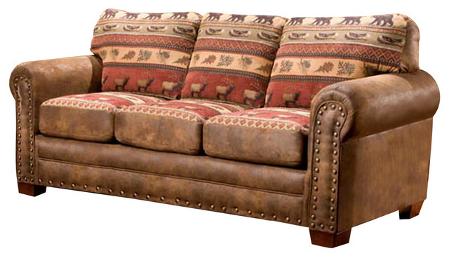 Sierra Lodge Sofa Sofas By American Furniture Classics