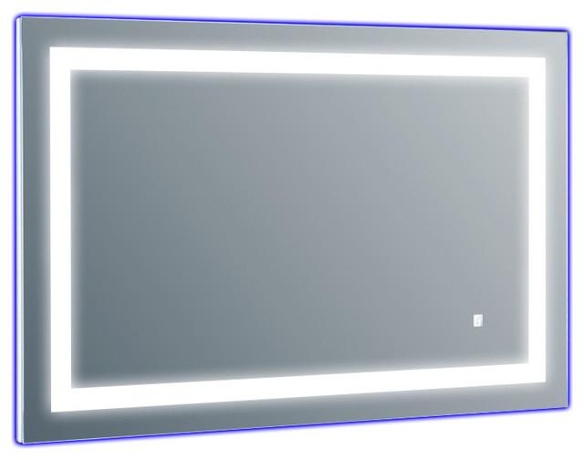 Seneca Led Light Bathroom Wall Mirror, 45x30.