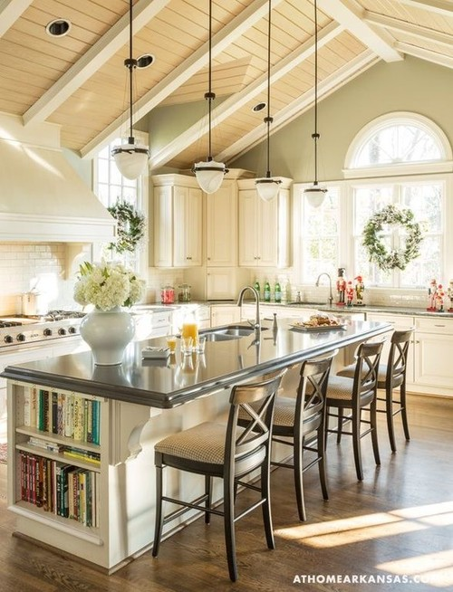 I D Say That Is The Very Definition Of A White Kitchen That Is Still Warm Ideas From This Photo That You Might Consider