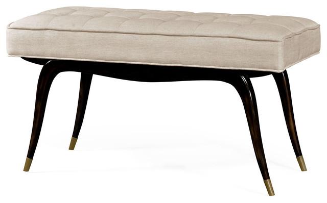 Mid Century Modern Style Bench.