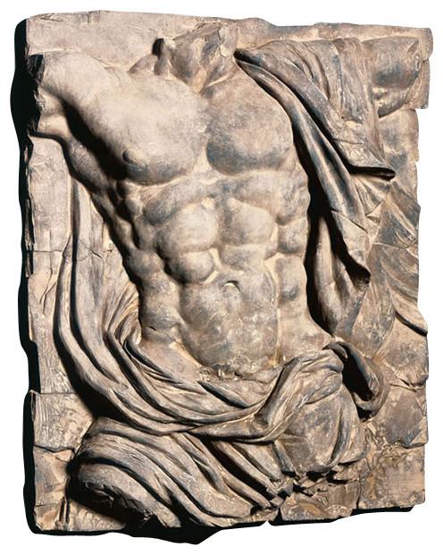 Male Torso Sculpture.