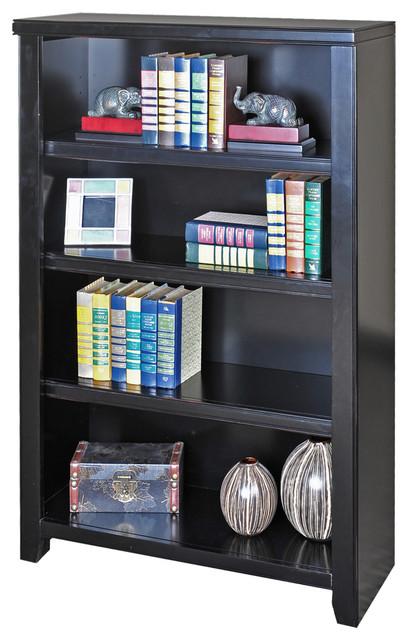 "Tribeca Loft Black 48"" Bookcase."