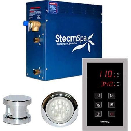 Steamspa Int600ch Indulgence 6 Kw Quickstart Acu Steam Bath Generator Package Steam Showers By Bathroom Bazzar