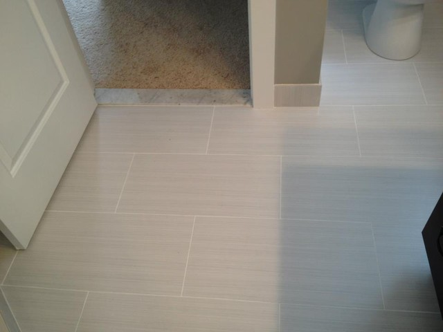 12x24 tile bathroom master bathroom 12x24 zera contemporary detroit by 10005