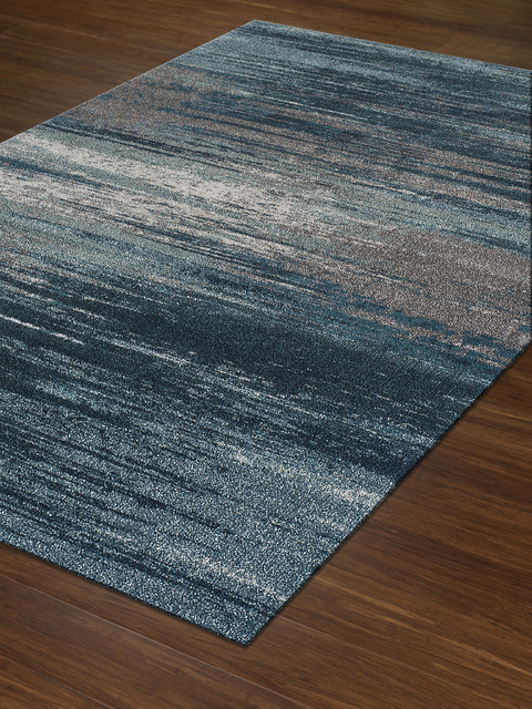Dalyn Modern Grays Teal Mg5993 Area Rug, 3&x27;3x5&x27;3.
