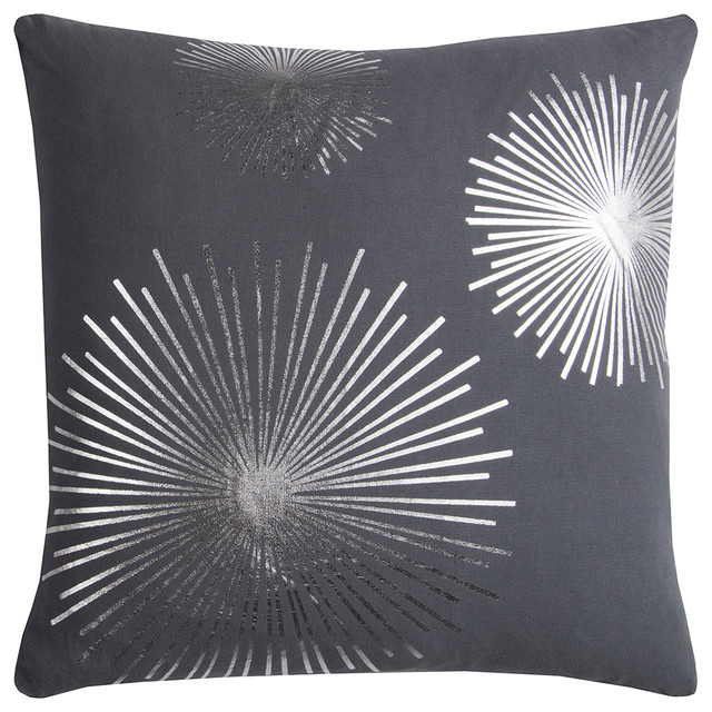"Rizzy Home T11967 20"" x 20"" Rachael Kate Throw Pillow"