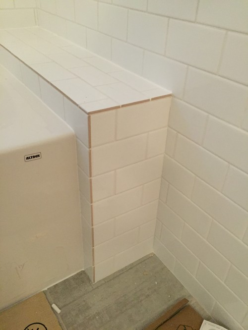 Tiling Help To Finish Bathroon