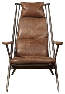 Accentrics Home Brenna Metal Frame Accent Chair