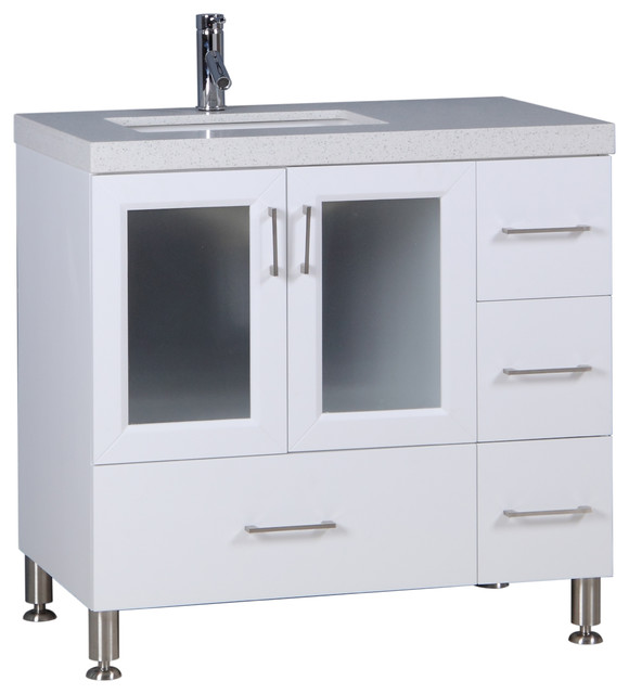 36 white vanity with sink. westfield collection single/double sink vanities, white, 36\ 36 white vanity with 3