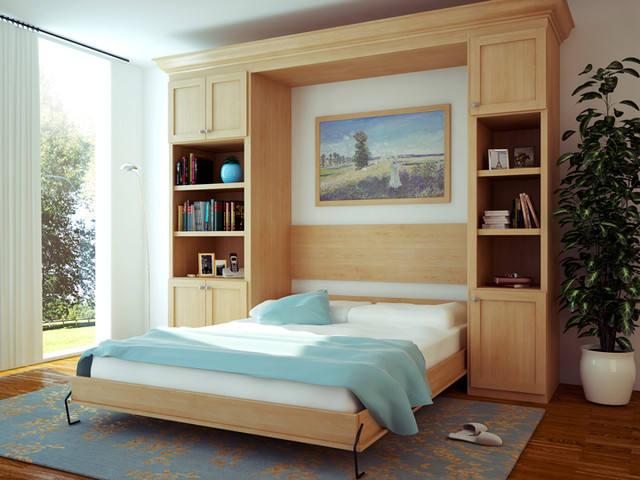 Canyon Creek Cornerstone wall bed - Shaker/Maple/Natural - Seattle ...