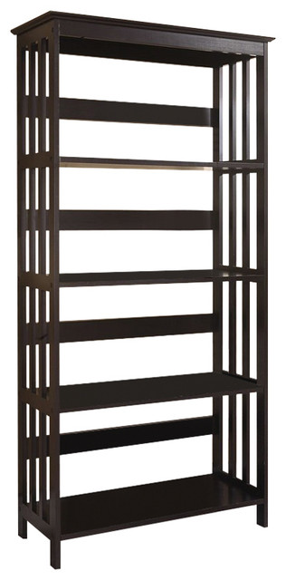 "Organization in Mind Bathroom Shelf Rack, Espresso, 60"" - Contemporary ..."