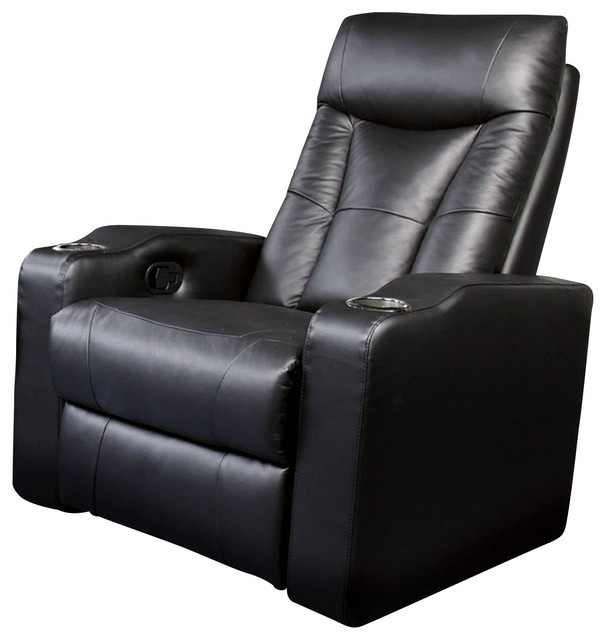 Coaster Pavillion Element Recliner, Black by Coaster Home Furnishings