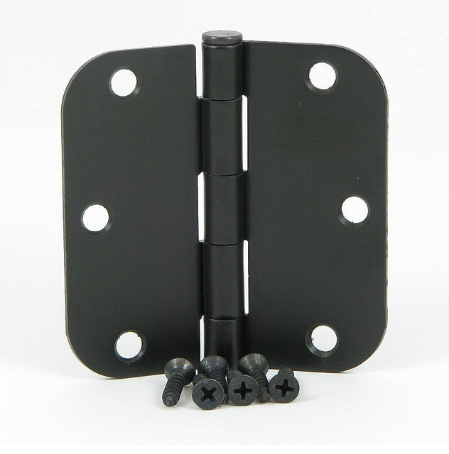 Door Hinge 3 1 2 Quot With 5 8 Quot Radius Traditional Hinges