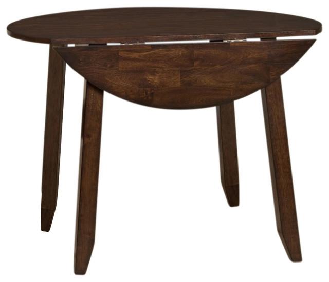 dea1b7c384c Intercon Furniture Kona Drop Leaf Table With Butterfly Leaf