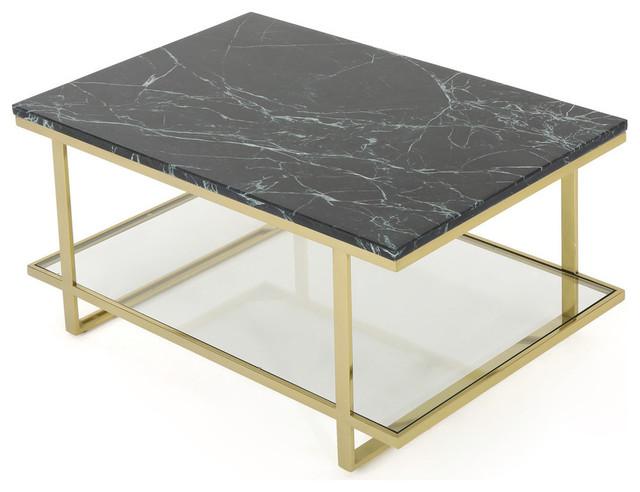 Gdf Studio Carol Marble Coffee Table