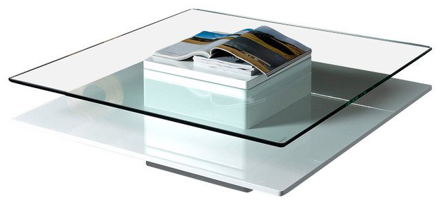 Emulsion Modern White Coffee Table Modern Coffee Tables