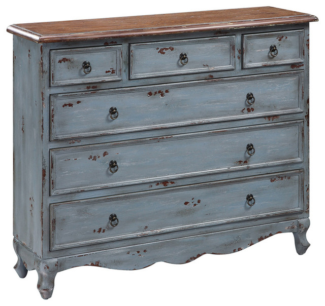 Crestview Collection CVFYR892 Shoreview 4-Drawer Cabinet - Contemporary - Accent Chests And ...