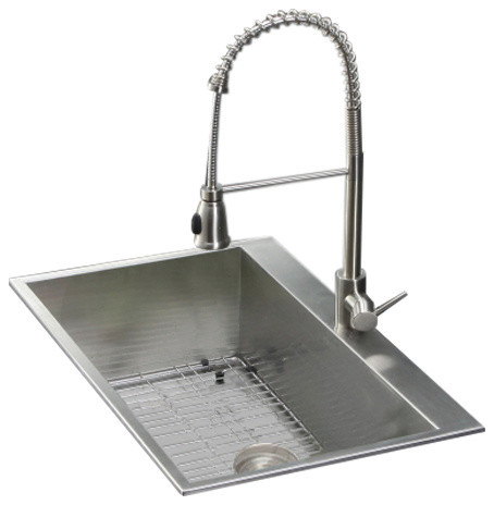 Ruvati Rvc2398 Stainless Steel Kitchen Sink And Stainless