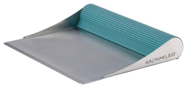 Rachael Ray Cucina Tools Bench Scrape, Agave Blue.