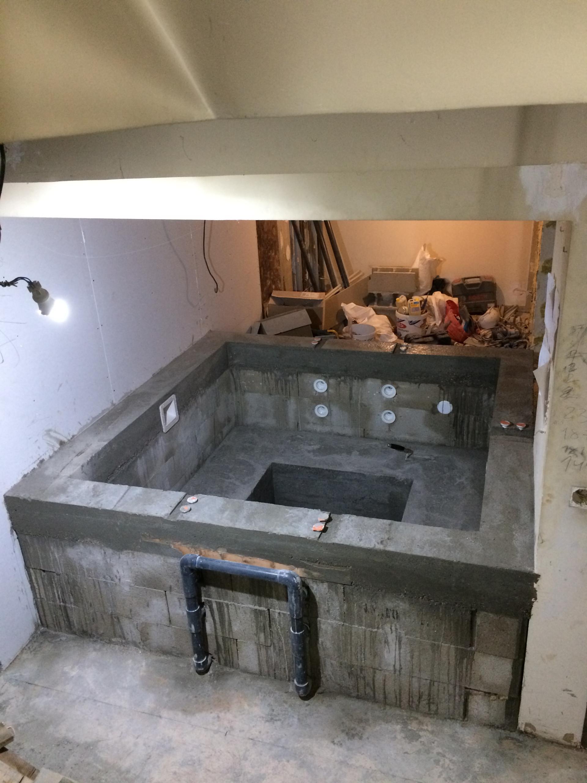 Construction Spa béton Paris 14ème