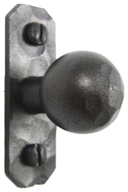 Rustic Iron Cabinet Knob Pull Hammered HK9 - Rustic ...