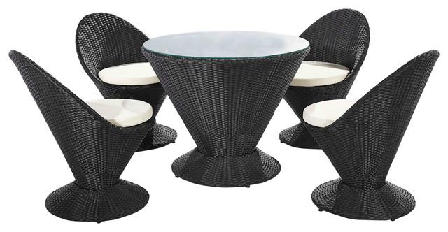 Outdoor Martini 5-Piece Patio Furniture Set.