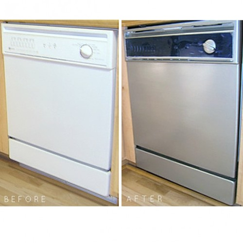 Anyone used the stainless steel appliance paint from - Paint for kitchen appliances ...