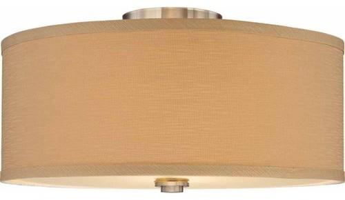 Volume Lighting V4352 Calare 2 Light Semi-Flush Ceiling Fixture.