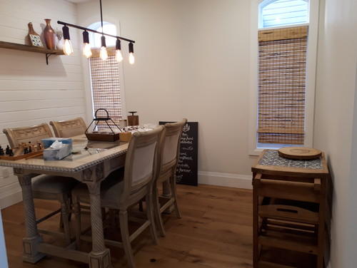 I Want To Slowly Put Some Farmhouse Decor In My Dining Room However Table Is Not Quite And Am Working On A New Meaning