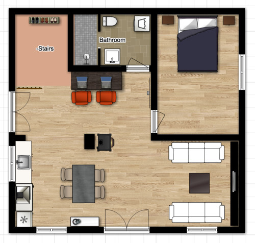Need Help With Open Space Kitchen