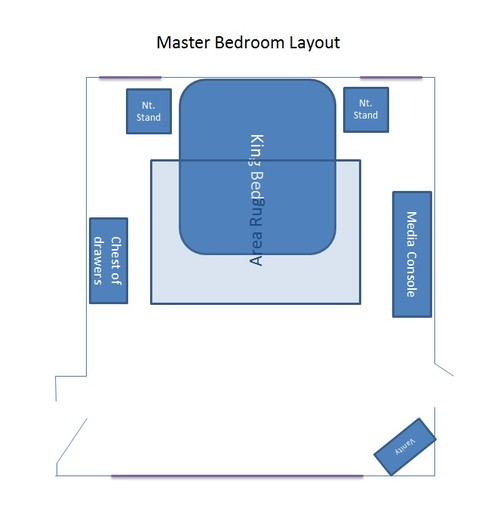 help bedroom furniture placement - Bedroom Furniture Layout