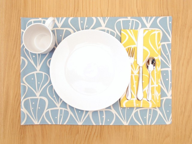 contemporary table linens by Design Public by Design Public