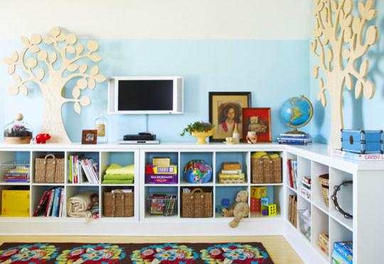 playroom- organization