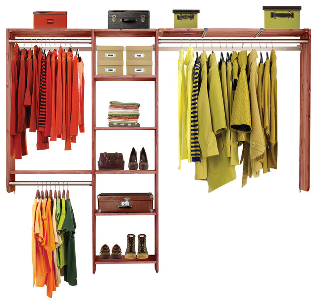 Aromatic Cedar Closet System Traditional Organizers By Green