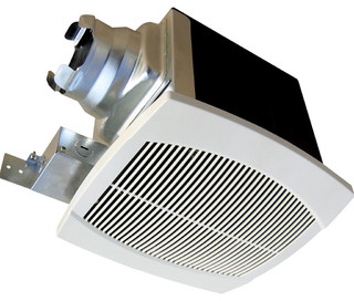 AeroFan Traditional Bath Fan, 90/60 CFM - Contemporary - Bathroom Exhaust Fans - by Continental ...
