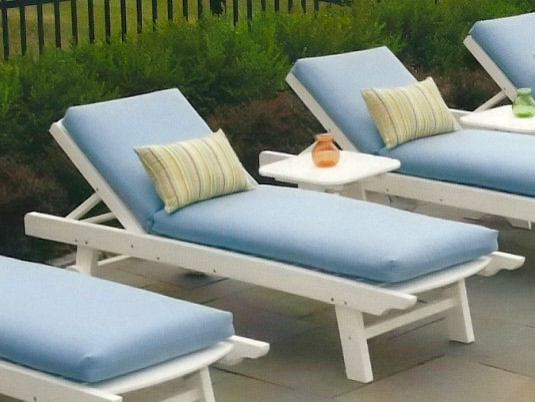Seaside Casual Kingston Chaise Lounge Patio Furniture And Outdoor Furniture