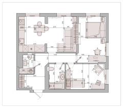 Поиск планировки: 70 кв.м двушка с прицелом на трешку — 4 плана