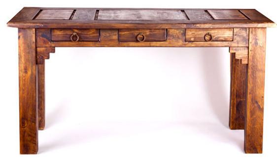 Rustic Office Desk Rustic Desks And Hutches by FoxDen Decor