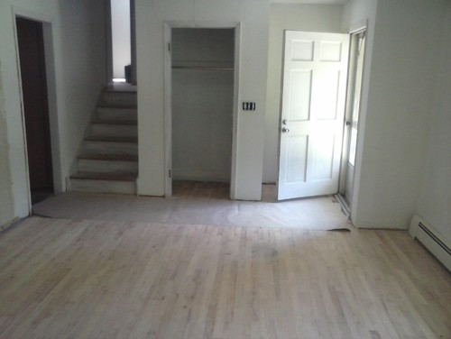 Living Room Floors Need To Be Stained