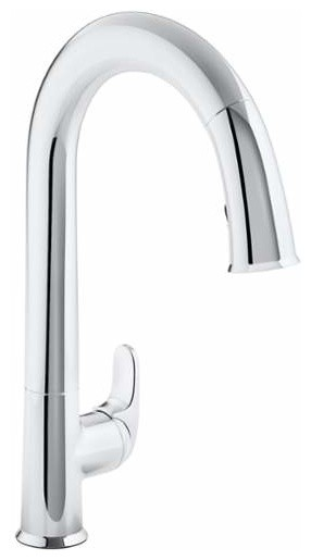 kohler k 72218 sensate touchless kitchen faucet kohler k 72218 b7 cp sensate polished chrome pullout spray