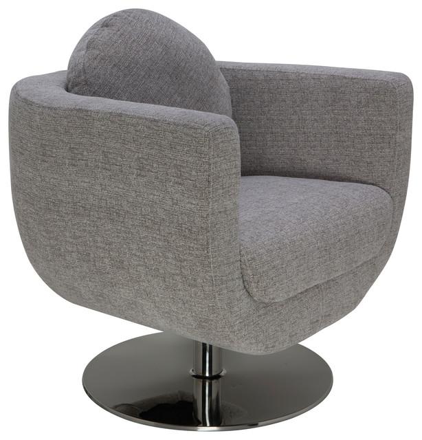 simone occasional chair gray