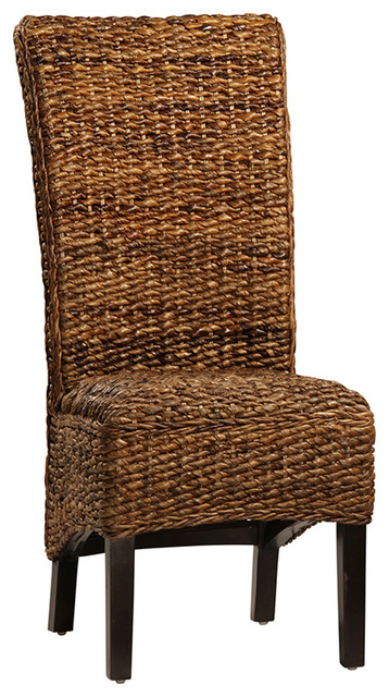 Woven Banana Leaf Dining Chair