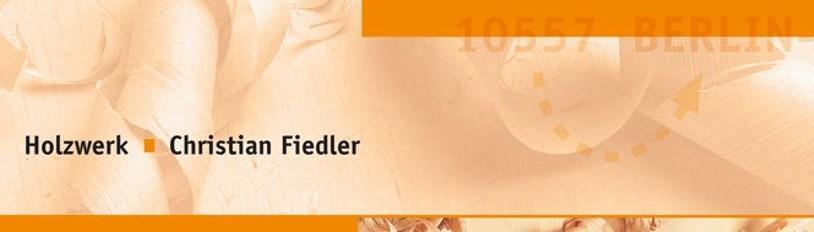 Christian Fiedler Holzwerk   Berlin, DE 10557
