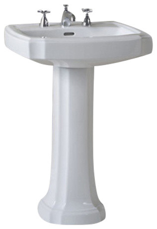 Toto Pt970 01 Guinevere Pedestal Foot Only In Cotton Bathroom Sink And Faucet Parts By Af