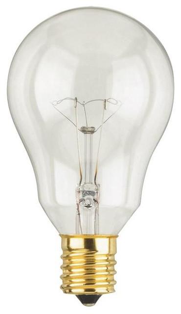 40 Watt A15 Incandescent Fan Light Bulb Traditional Incandescent Bulbs By Lighting Supply