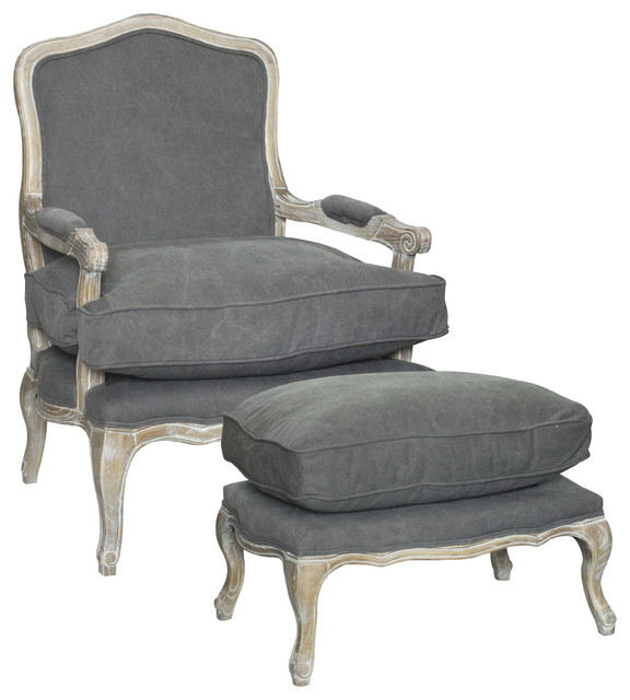 Rodney Living Room Chair And Ottoman 2 Piece Set