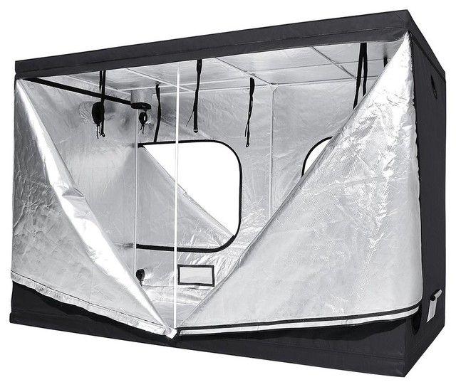 100% Reflective Mylar Hydroponic Grow Tent Non-Toxic Room Hut.