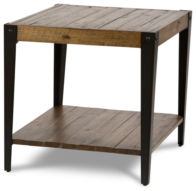 Aico Michael Amini Aspen End Table Industrial Side Tables And End Tables By Unlimited
